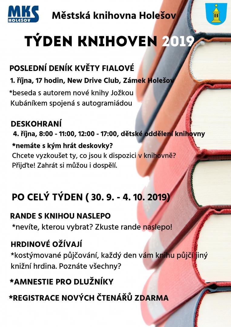 Valentnsk knihovna aneb Rande naslepo - Moje Krom
